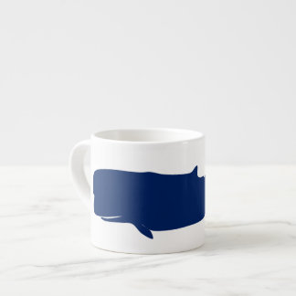 Whale Navy Espresso Cup