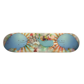 Whale of a good time skateboard deck