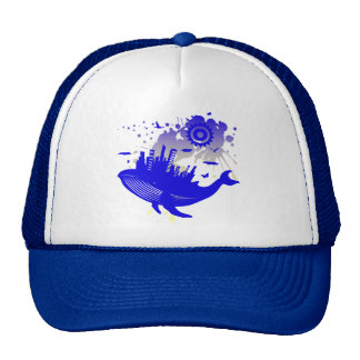 WHALE_OF_A_TIME TRUCKER HATS