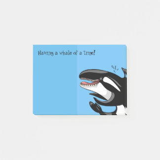Whale of a time Post-it Notes