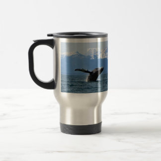 Whale Playtime; Thank You Travel Mug