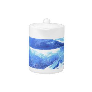 Whale Pod Blue Ocean