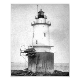 Whale Rock Lighthouse Photograph