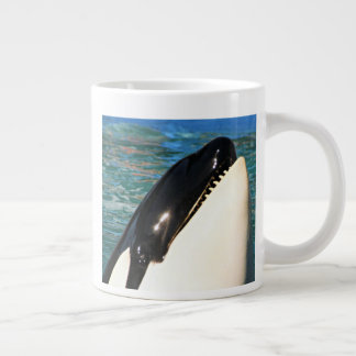 Whale Saying Hello Large Coffee Mug