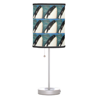 Whale Saying Hello Table Lamp