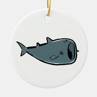 whale shark ceramic ornament