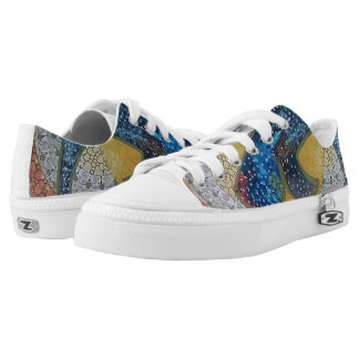 Whale shark Low-Top sneakers