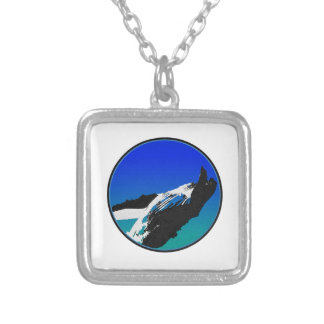 Whale Silver Plated Necklace
