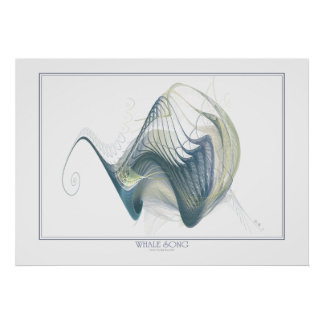 Whale Song Print