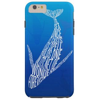 Whale song tough iPhone 6 plus case