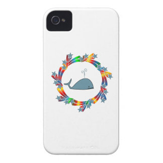 Whale Stars iPhone 4 Cover