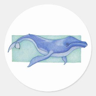 Whale Sticker