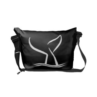 Whale Tail Courier Bag