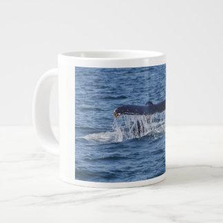 Whale Tail Large Coffee Mug