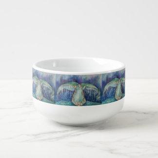whale tail soup mug