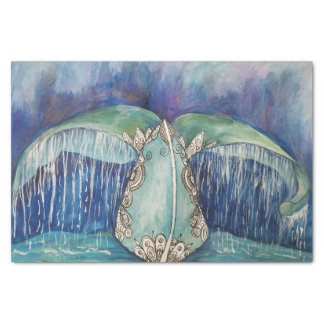 Whale tail tissue tissue paper