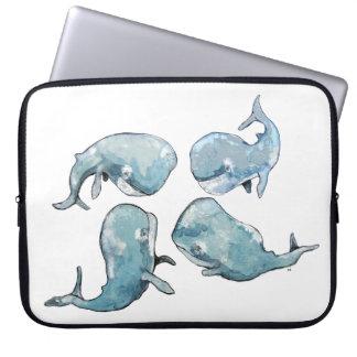 Whale Talk Laptop Sleeve