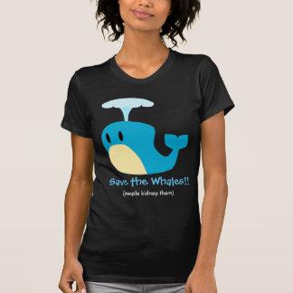 Whale Text Shirt