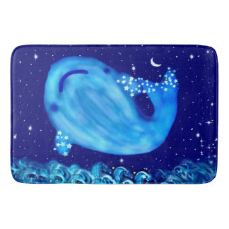 Whale Underwater Fantasy bathmat