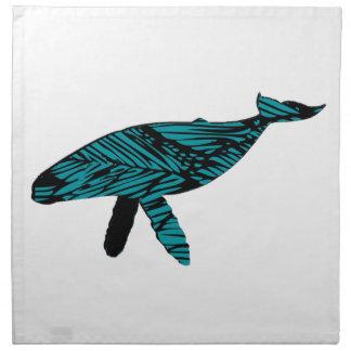 Whale Watch Napkin