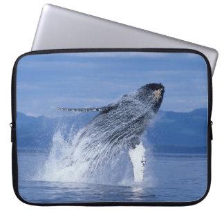 """Whale Watchers"" Laptop Sleeve 15 inch"
