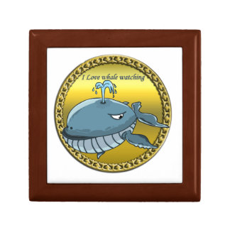 whale watching for giant floating blue whales gift box