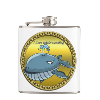 whale watching for giant floating blue whales hip flask