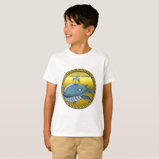whale watching for giant floating blue whales T-Shirt