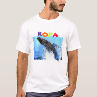 whale watching, Kona, Hawaii T-Shirt