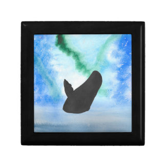 Whale With Northern Lights Gift Box
