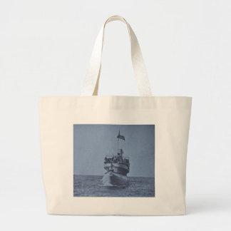 Whaleback Passenger Steamer Christopher Columbus Jumbo Tote Bag