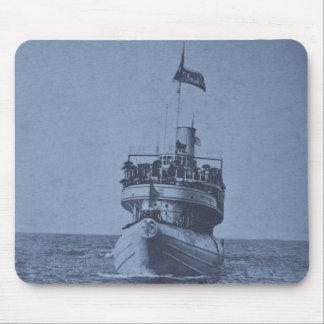 Whaleback Passenger Steamer Christopher Columbus Mouse Pad