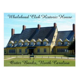 Whalehead Club Postcard