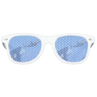 Whales and megalodon underwater - 3D render Retro Sunglasses