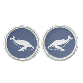 Whales Cuff Links