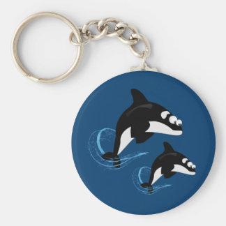 whales keychain