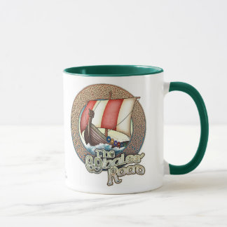 Whales' Road Viking Ship Mug