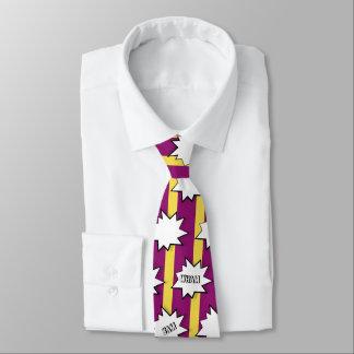 Wham Bam Ka-Pow Tie