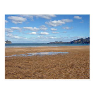 Whangapoua Beach at Low Tide, New Zealand Postcard