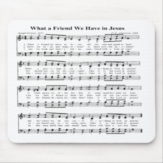 WHAT A FRIEND -MOUSEPAD MOUSE PAD