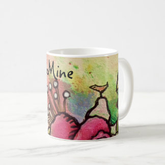 """What a lucky bird I am"" Mug"