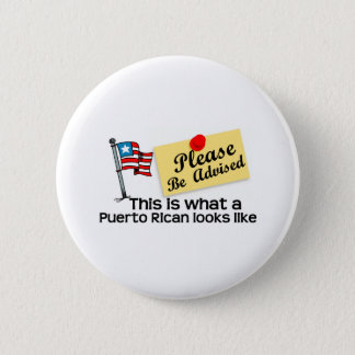 what a puerto rican look like 2 inch round button