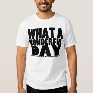 What A Wonderful Day... Not - Light T-shirt