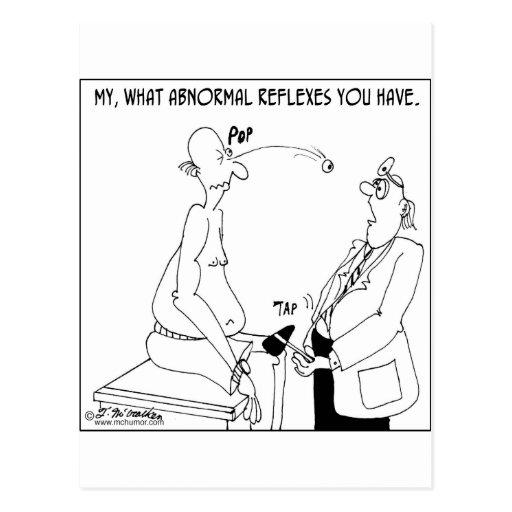 What Abnormal Reflexes Postcard