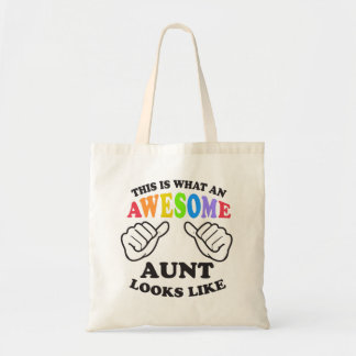 What an awesome gay AUNT Tote Bag