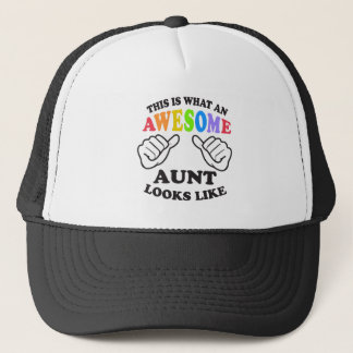 What an awesome gay AUNT Trucker Hat