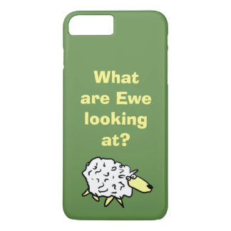 "What are ""ewe"" looking at? iPhone 8 plus/7 plus case"