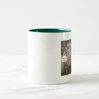 What Are They Looking At! Two-Tone Mug