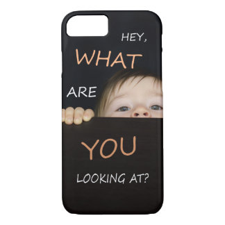 What Are You Looking At Baby iPhone 8/7 Case