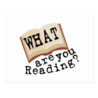 What Are You Reading? Postcard